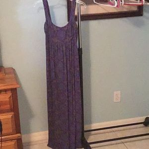 Produce long purple dress sz S